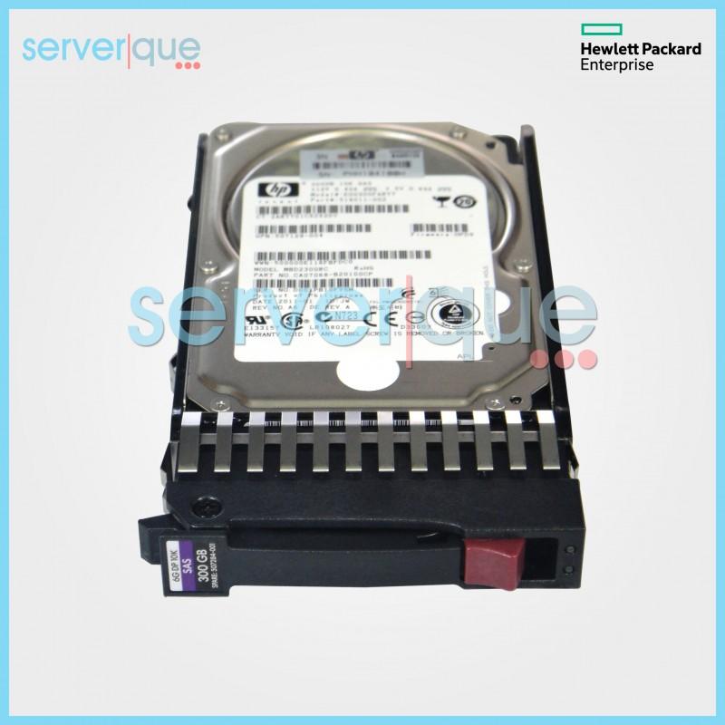 "HP 507127-B21 507284-001 300GB 6G 2.5/"" 10K dual port sas hard drive"
